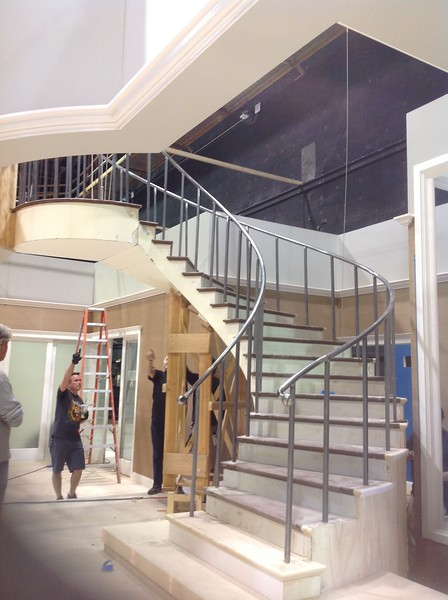Spiral Staircase for Netflix comedy with Rev Run