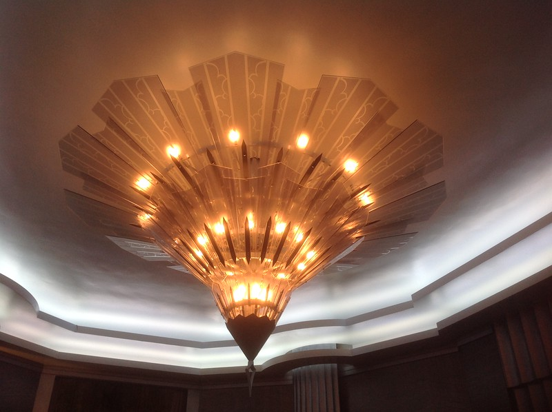 "Chandelier for the set of ""American Horror Story: Hotel"""