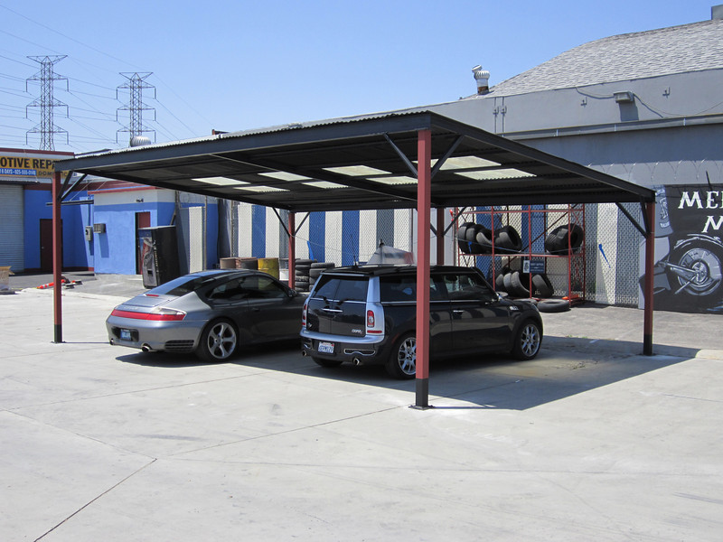 "Carport for ""Sons of Anarchy"" (Fox Television)"