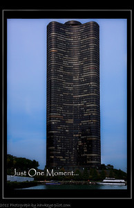 Architectural boat tour, Chicago, Illinois. This, the Lake Point Tower, a seventy story high-rise, located just by Navy pier on Shore Line drive. If you have some spare moments, the boat tour is an interesting way to take in the town!