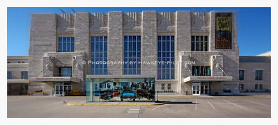 Union Station, Omaha, Nebraska. This art deco-style terminal is a favorite. On this visit, opportunity was shining. With out any cars in the lot, and a favorable light, the moment was worth capturing.