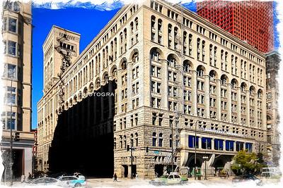 The Civic Auditorium, downtown Chicago, Illinois. A Louis Sullivan masterpiece.