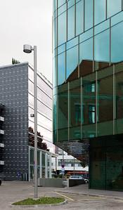 Vaade Mere puieteelt.Paremal City Plaza ja vasakul Nordic Hotel Forum