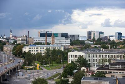 Vaade Äripäeva majast, Pärnu mnt, kesklinn, arhitektuur