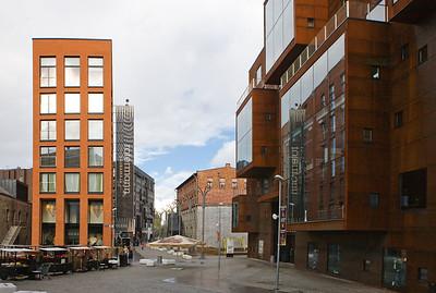 Rotermanni kvartal, vaade Rotermanni tänavale.Hoone Rotermanni 8