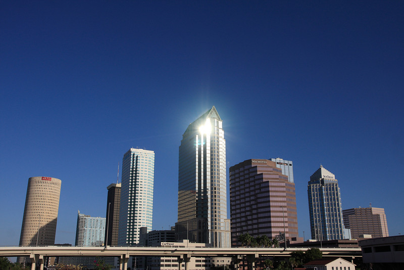 Down town Tampa Sky Line