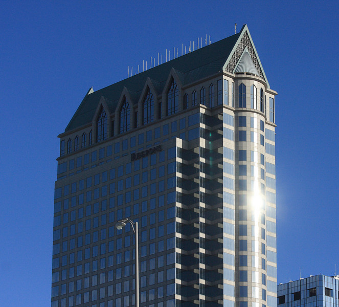 Regions Bank building, downtown Tampa