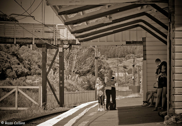 Tawa Railway Station, Wellington, 20 December 2012