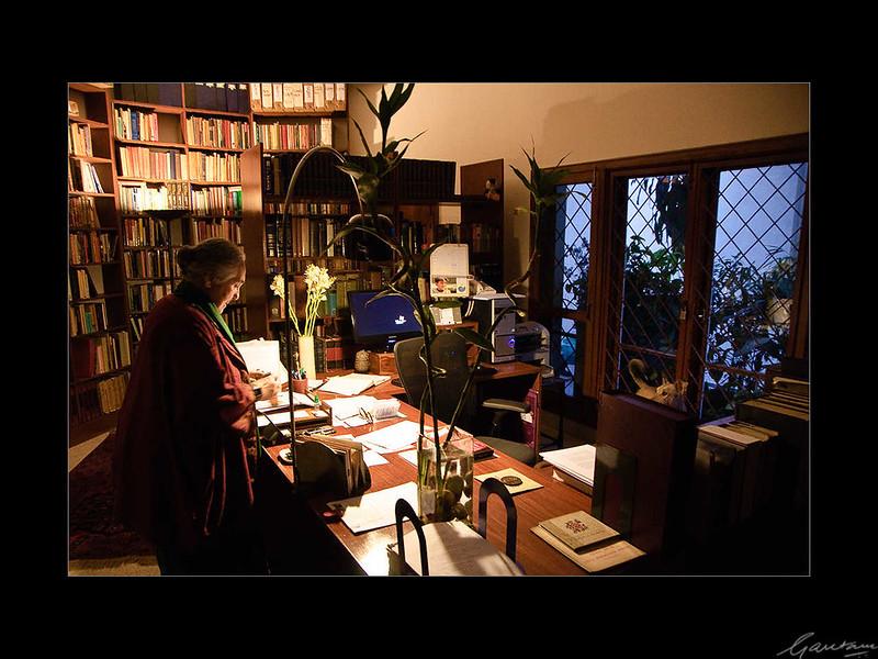02: Romila Thapar's residence, New Delhi | Romila Thapar's residence, New Delhi 26 February 2010 NIKON D90; 18-200 mm f/3.5-5.6; Center-weighted average; 1/25 sec at f/3.5; ISO-2000;