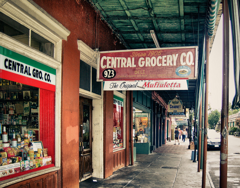 Central Grocery Store in downtown New Orleans.