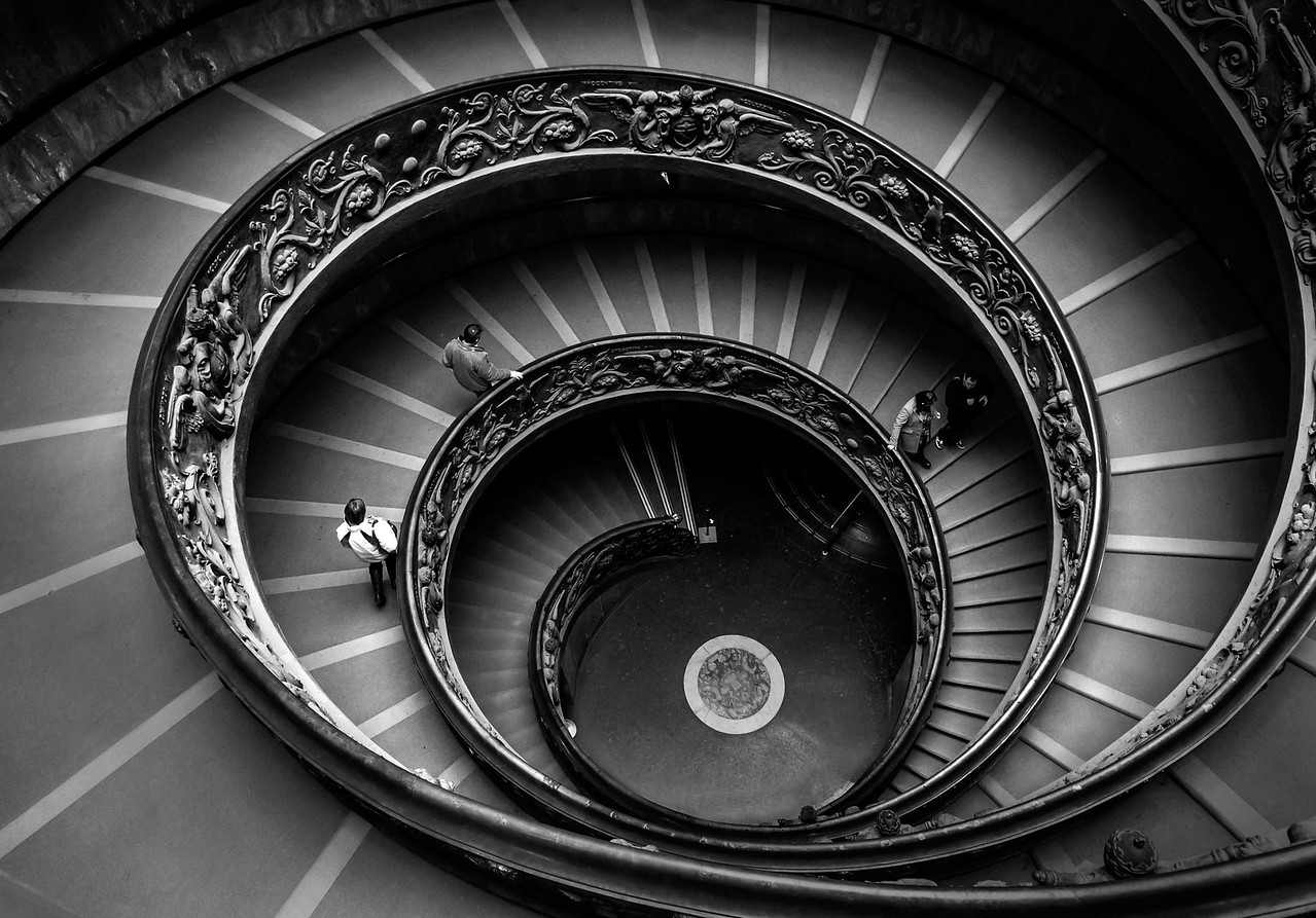Staircase, Vatican