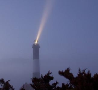 A Foggy Night.