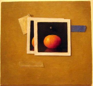 """""""Orange"""" Chris Leib (Oil on canvas, 2005)"""