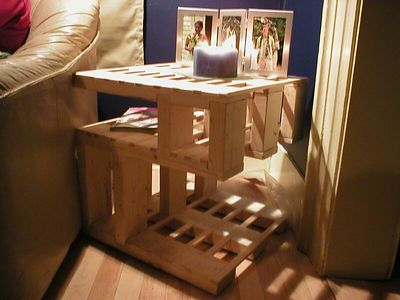 My endtable design.... PATENT PENDING!