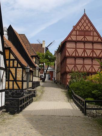 The Old City in Aarhus