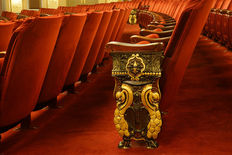 Oriental Theater - Chair Ornamentation
