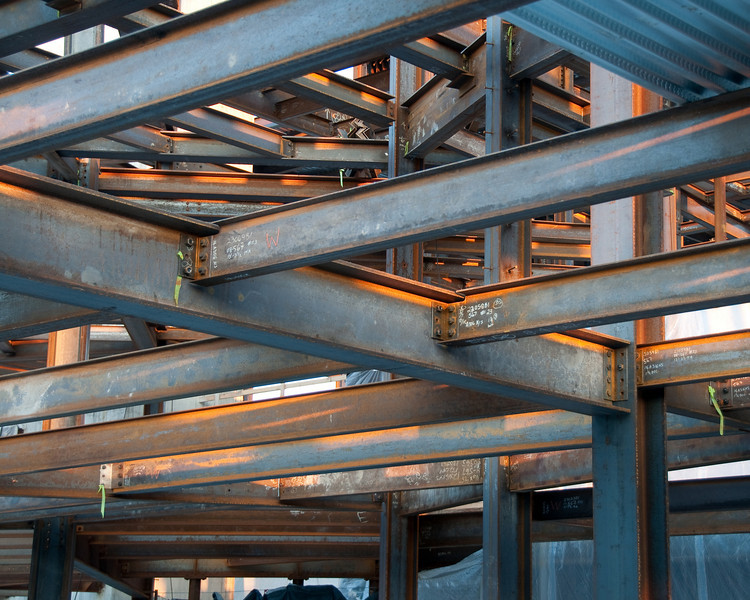 Complex structural steel at The Palladium - Carmel, IN