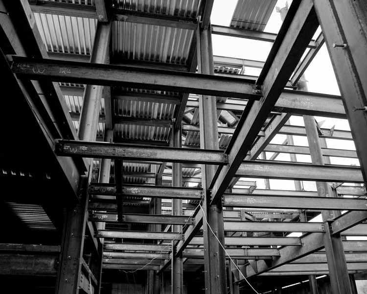 Steel Structure for The Palladium - Carmel, IN