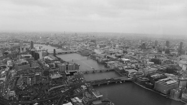 View from The Shard London - LX7 / LX100