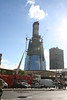 Sunday 17 October 2010<br /> <br /> Over the last week, there has not been any growth to the central core of The Shard however the external structure has grown.