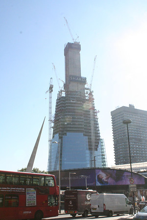 Sunday 10 October 2010<br /> <br /> Over the past two weeks, not much has happened to the central core of The Shard however the structure has grown.