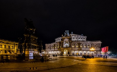 The Semperoper, Dresden
