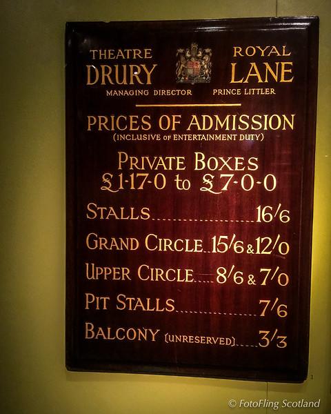 Notice Board: Theatre Royal Drury Lane (1946)