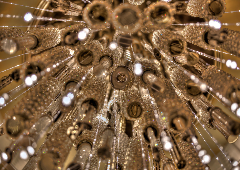 Chandelier at The Palazzo.  Las Vegas, NV