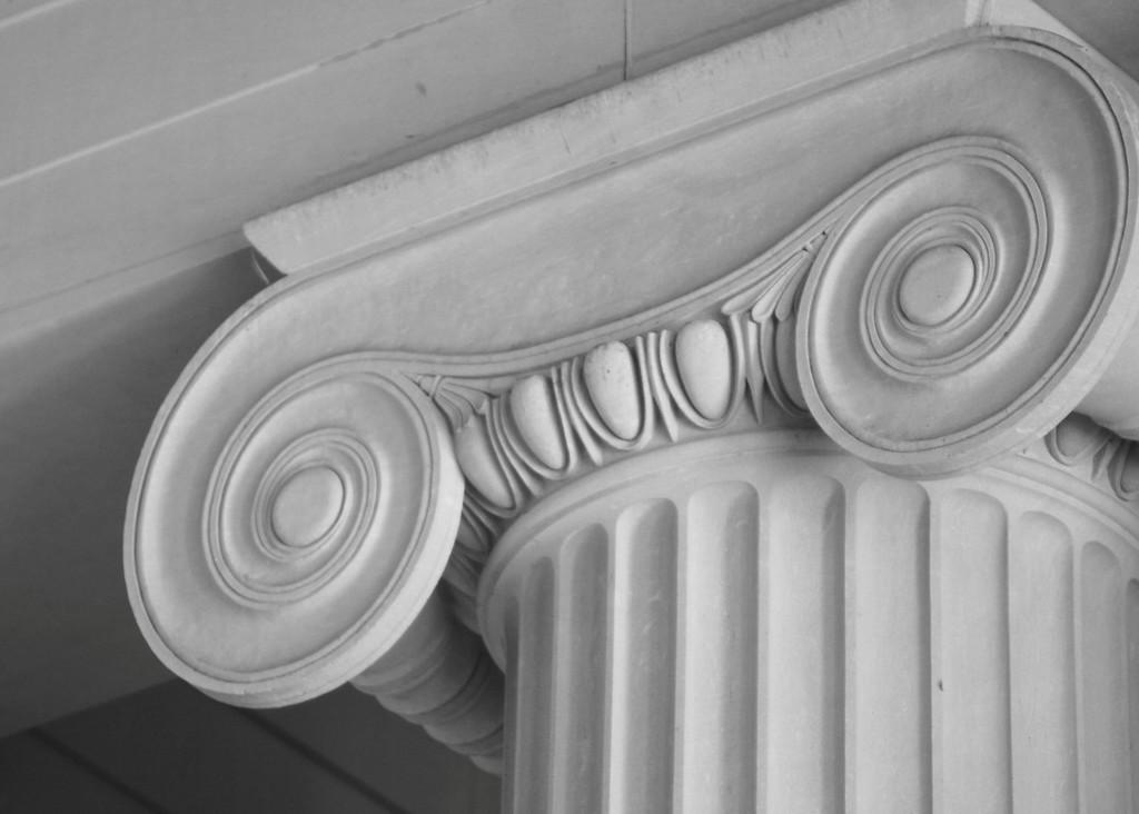 Column at Lincoln Memorial
