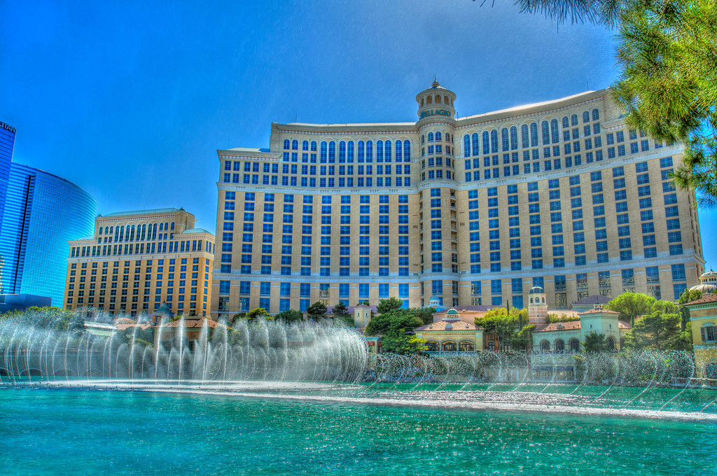 The Bellagio hotel in Vegas, still a classic.  Las Vegas, NV
