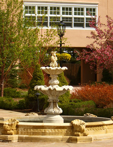 Fountain at The Broadmoor, Colorado Springs, CO