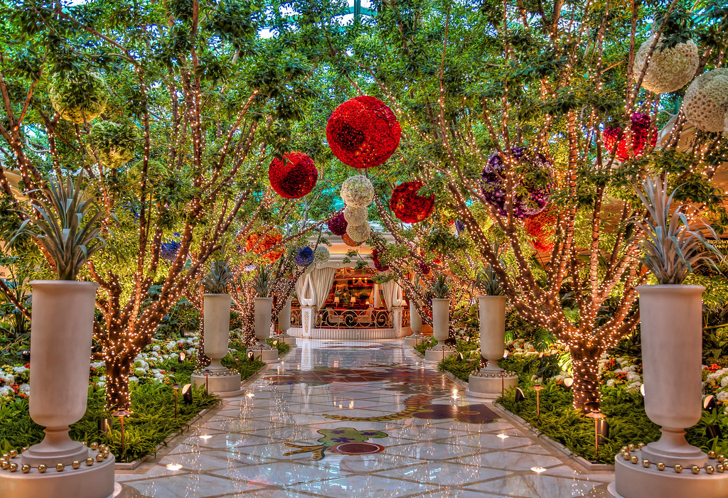 Atrium at the Wynn.  Las Vegas, NV