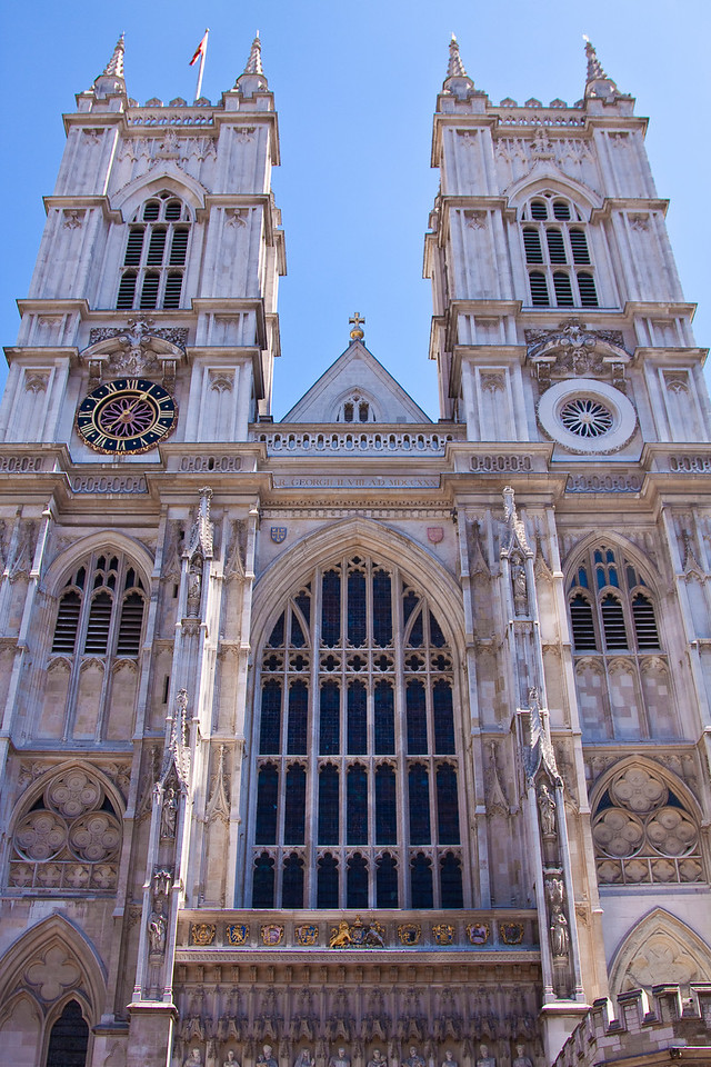 Westminster Abbey was closed this day, but I snuck in anyway.  London, United Kingdom