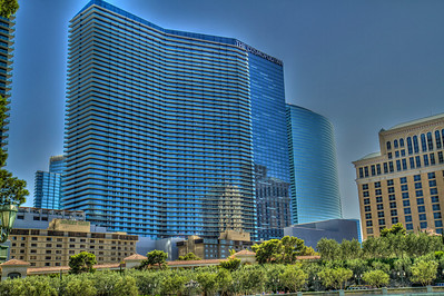 One of the newest hotels on The Strip.  Las Vegas, NV