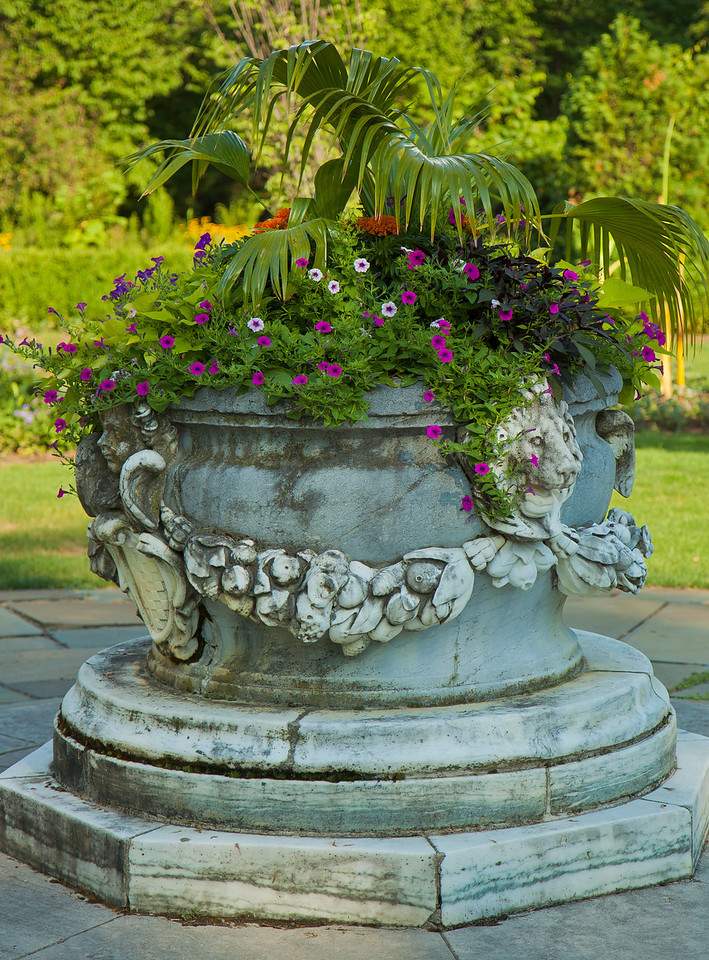 Planter at New Jersey Botanical Gardens, New Jersey