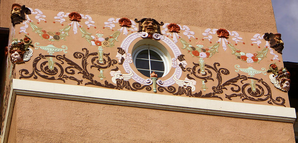 Outer wall decor at The Broadmoor, Colorado Springs, CO