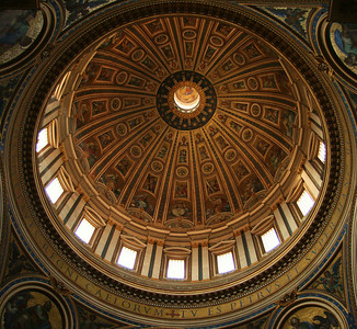 Dome in St. Peter's Basilica, Vatican City