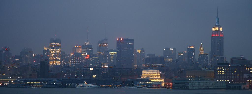 New York City from Hoboken
