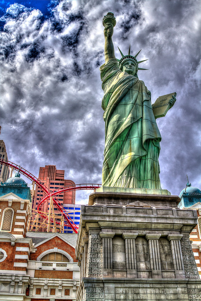 Little Lady Liberty.  Las Vegas, NV
