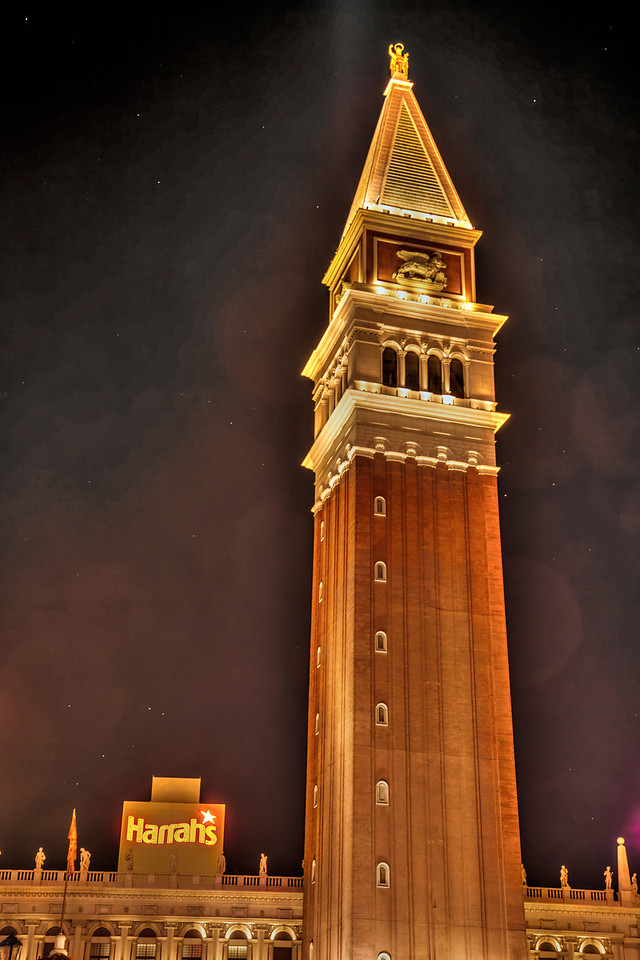 Tower at the Venetian.  Las Vegas, NV