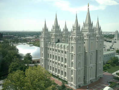 LDS Temple, Salt Lake City, Utah