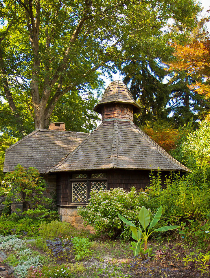 I'm not sure what the function of this little house was at New Jersey Botanical Gardens, New Jersey