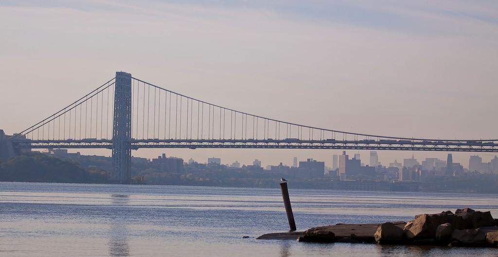 Morning on the Hudson River, Englewood Cliffs, NJ