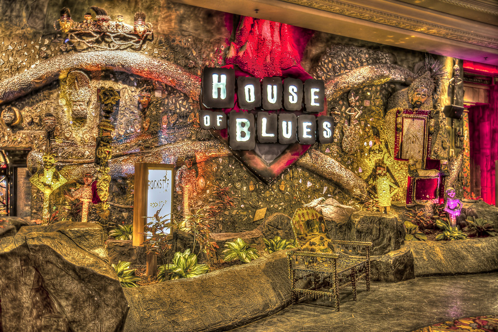 House of Blues.  Las Vegas, NV