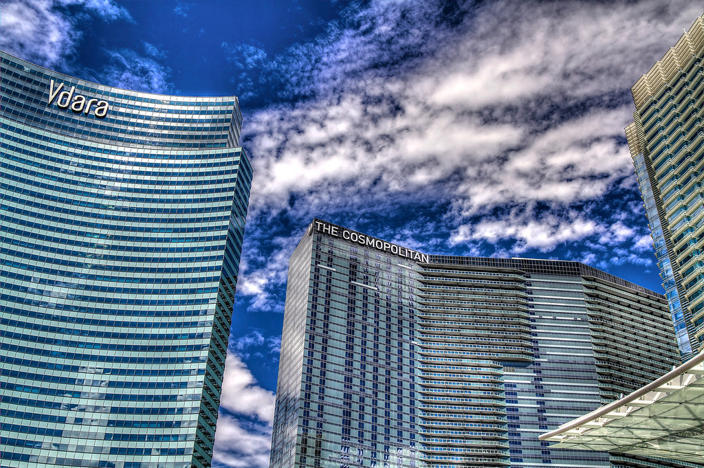 Vdara and Cosmo.  Las Vegas, NV