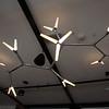 Light fixture in large residents' lounge on second floorl (street level on Thorndike Street side.) (SUN/Julia Malakie)