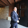 Lupoli Companies CEO Sal Lupoli gives a tour of Thorndike Exchange mixed use development. The huge doors that were preserved were opened to let trains in to unload. (SUN/Julia Malakie)