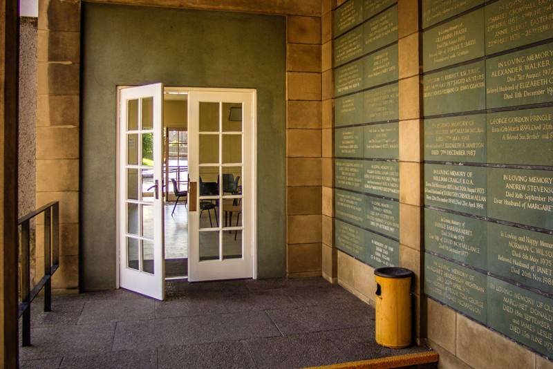 Warriston Crematorium, Edinburgh<br /> Opened in 1929.