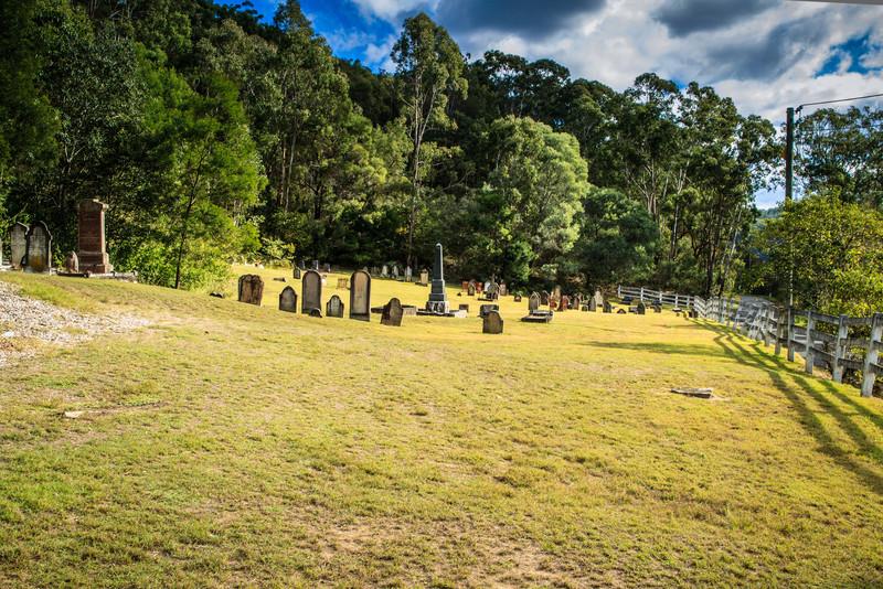 Wiseman's Ferry, Sydney, NSW, Australia<br /> Wisemans Ferry Cemetery.