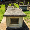Parramatta, NSW, Australia<br /> Grave (in St John's Cemetery) of former missionary turned chief constable, Francis Oakes.